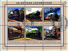 Usa & go locos (big boy/southern railway) train locomotive stamp sheet