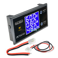 DC 100V 10A 1000W Digital LCD Display Voltmeter Wattmeter Current Power Tester