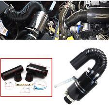 Filter Carbon Fiber Car Induction Cold Air Intake System Caliber Of Inlet 70mm