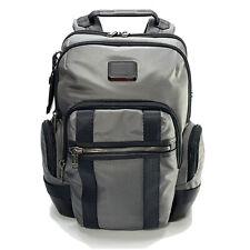 Tumi Nathan Expandable Business Laptop Backpack Gray Black $425