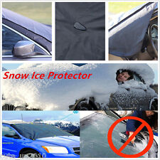 Car Snow Ice Protect Cover Magnet Windshield Sun Frost Protector Tarp Truck Flap