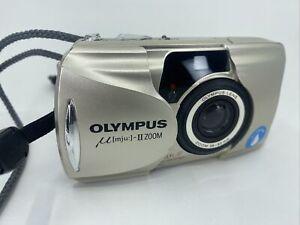 [EXC] Olympus μ mju ii Zoom Film Camera From Japan #210237
