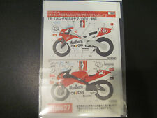 """Studio 27   1/12 Honda NSR """"Marlboro 98 & Yamaha 99'  decal  Tamiya    Moto GP"""