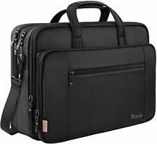 Laptop Bag, 17 inch Business Briefcase for Men Women Large Waterproof Laptop