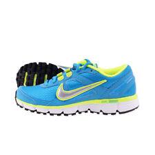 45d8310290cc Nike Dual Fusion ST Wmn Blue Neon Yellow Running Shoe