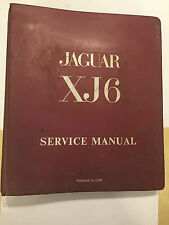HUGE OEM JAGUAR 2.8 & 4.2 XJ6 XJ-6 FACTORY Workshop MANUAL REF #: E.155