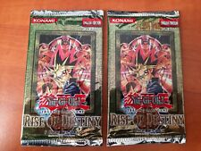 Yu-Gi-Oh! Booster Pack Rise Of Destiny RDS 1st English Factory Sealed