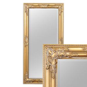 Wandspiegel BESSA gold antik 100x50cm barock Design Spiegel pompös Holzrahmen
