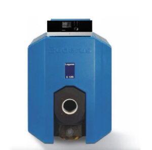 Buderus Logano G125 28 kW mit MC110 RC310 Guss Niedertemperatur Kessel Gas Öl