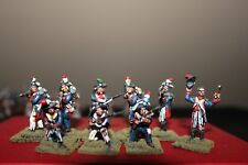 25mm Napoleonic French Infantry Firing Line, 9-Perry Figures, 1807-1814