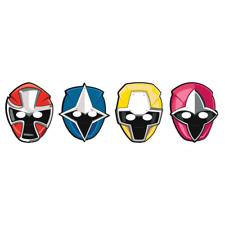 Power Rangers Ninja Steel Cardboard Masks 8 Pack