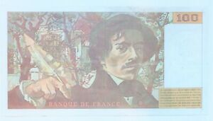 billet 100 francs Delacroix 1994