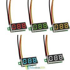 MINI LED Mini Voltmeter Spannungsanzeige Panelmeter DC 0-100V Spannung Meter NEU