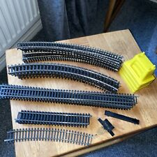 More details for hornby 00 gauge  30+ track pieces various 4 track supports bundle
