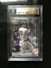 AARON JUDGE 2017 Topps NOW RC #87 BGS 10 PRISTINE NY Yankees-BUY YANKEE RC ROY