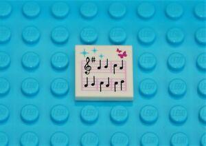 LEGO MUSIC SHEET NOTE PART NO 3068 FOR DISNEY PRINCESS FRIENDS 3939 41162 30552