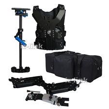 Pro 1-7kg Carbon Fiber Stabilizer Steadicam Camera Video Steadycam Vest Arm+ bag
