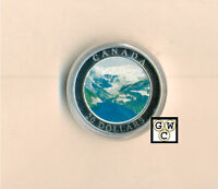 2003 Rocky Mountains $20 Colorized .9999Fine Silver(Natural Wonders)(10800)-OOAK