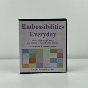 Embossibilities Everyday CD ROM by Sharon Duncan Crafts