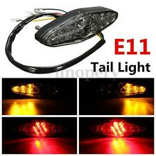 UNIVERSAL MOTORCYCLE MOTORBIKE LED REAR TAIL STOP BRAKE INDICATOR RUNNING LIGHT