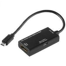 MHL Adapter Kabel MicroUSB auf HDMI f Samsung Galaxy Note 10.1 WiFi 2014 Edition