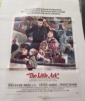 "THE LITTLE ARK 1972 Original Movie Poster One Sheet 27"" x 41"" Theodore Bikel"