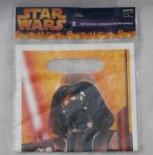 8 Star Wars Darth Vader Treat Sacks, Birthday Party Loot Bags, Hallmark