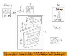 TOYOTA OEM Front Door-Corner Cover Retainer 6777158010