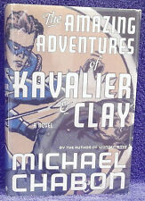 Chabon, Michael.  The Amazing Adventures of Kavalier & Clay.  Signed, First Ed