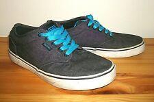 Vans Off the Wall TC9R Charcoal Gray Canvas Skateboard Shoes Men's Sz 7
