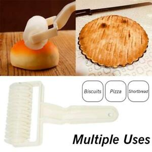 Baking Mold Pastry Lattice Roller Cutter Plastic Pastry Bakery Kitchen Tool -UK
