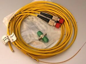 Diamond Fiber Optic Cable Patchcord HPC-S0.66 020241501034 IIL-19dB RL>45dB x2