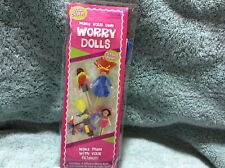 Leisure Arts Make Your Own Worry Dolls  Kit New