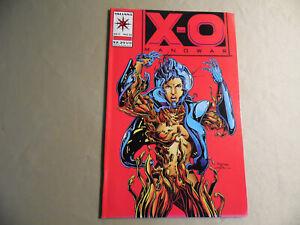 X-O Manowar #21 (Valiant 1993) Free Domestic Shipping