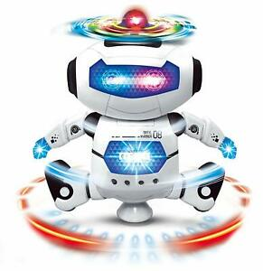 Dancing Robot with 3D Lights and Music,(Multicolor) Free Shipping Worldwide