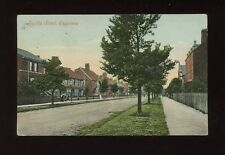 Lincolnshire Lincs SKEGNESS Algitha Rd Used 1905 PPC by Valentine