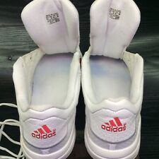 adidas SS2G Superstar 2G US 10.5 Red stripe White leather perf 2003 EUC