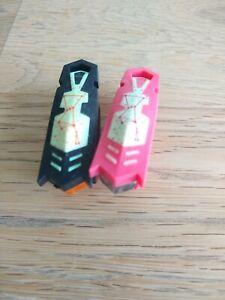2 HEXBUGS NANO MICRO ROBOTIC CREATURES - GLOW IN THE DARK