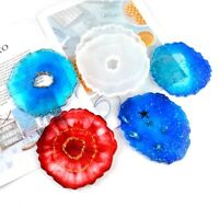 Coaster Resin Casting Mold Silicone Jewelry Making Epoxy Mould Craft DIY US