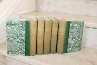 Paul Verlaine - Oeuvre complètes en 5 volumes ( ed albert messein 1919)