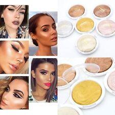 New Shimmer Matte Highlighter Bronzer Eyeshadow Glow Brightening Pressed Powder