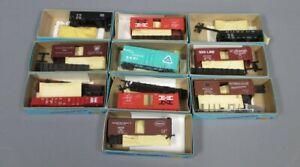 Athearn HO Gauge Assorted Freight Car Kits [10]/Box