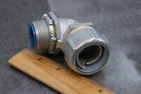 "Thomas & Betts 5354 1"" 90° Degree Liquidtight Insulated Conduit Connector"
