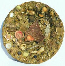 More details for unusual antique folk art tray sculpture edward vii mudlarking memorabilia c1902