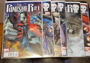 PUNISHER (2011 Marvel) -- #1 2 3 4 5 6 7 8 9 to 16 -- Greg Rucka -- FULL Set