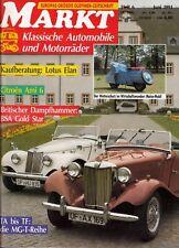 *w- MARKT Heft JUNI/91 - BSA Gold STAR - Citroen AMI 6 - MAICO-Mobil -Lotus ELAN