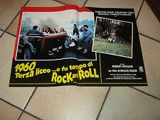 fotobusta,1960 TERZA LICEO E FU TEMPO DI ROCK ..vadim hossein MOTO SCOOTER,AUTO