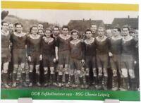 BSG Chemie Leipzig + DDR Fußball Meister 1951 + Fan Big Card Edition E14 +