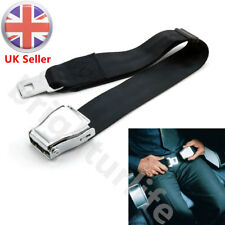 Adjustable Airplane Seat Belt Extension Extender Airline Buckle Aircraft Safe UK
