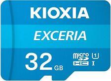 KIOXIA 32GB micro SD Karte SDHC Class 10 UHS-I 100MB/s Speicherkarte DE/OVP